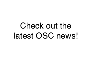 Look out for the latest OSC news!
