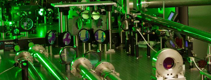Ohio State University's 400 Terawatt Scarlet laser