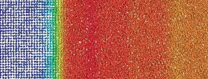 Simulation of inter-atomic potentials