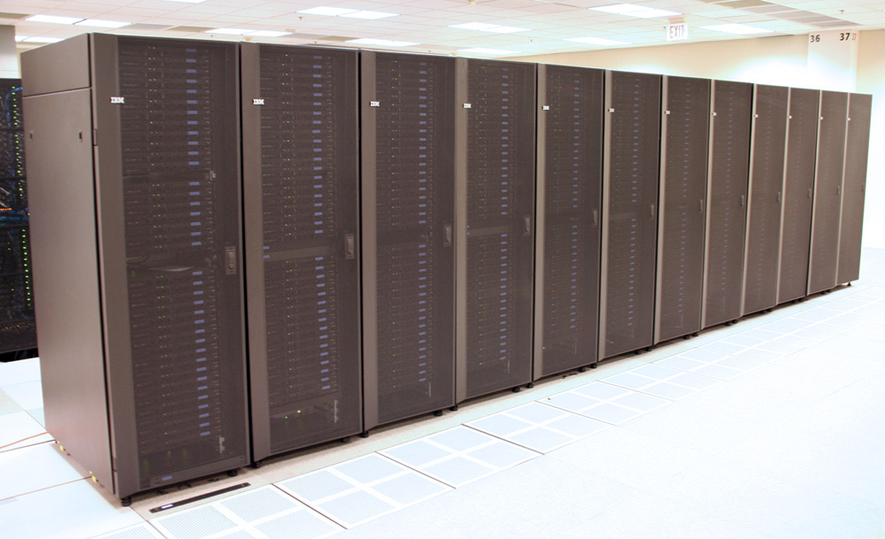 Photo: OSC Glenn IBM 1350 Cluster