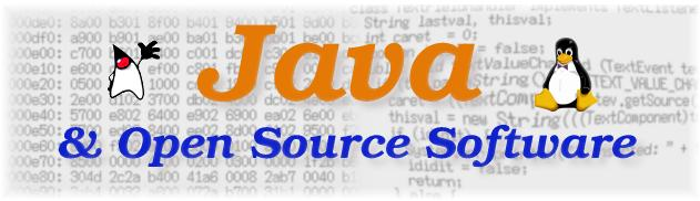 Java and Open Source Software SIG